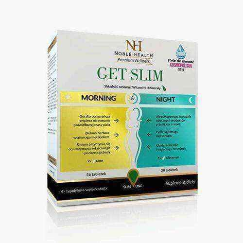 Get Slim Morning & Night (56 tablets per day + 28 tablets per night)