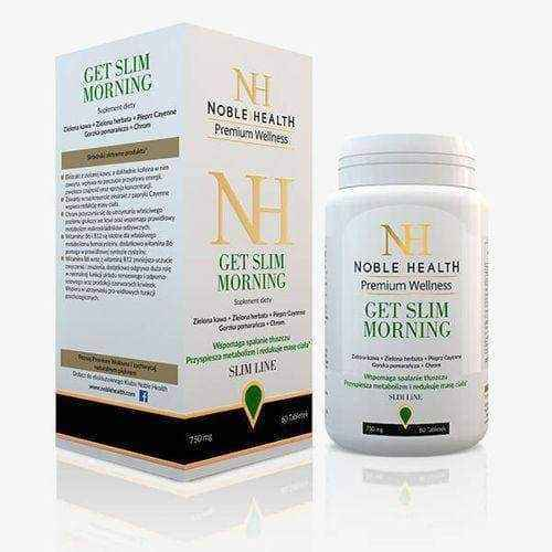 Get Slim Morning Noble Health x 60 tablets weight loss supplements for women