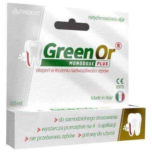 Green Or Monodose Plus gel 0.5ml
