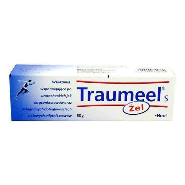 HEEL Traumeel S GEL Anti-Inflammatory Pain Relief Analgesic- Homeopathic Ointment 50g