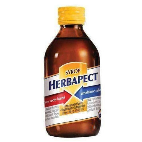 HERBAPECT JUNIOR X 100ML affecting the throat and support natural cleansing the respiratory tract
