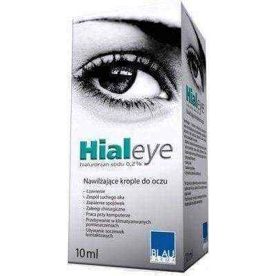 HIALEYE 0.2% eye drops 10ml, eye drops for dry eyes.