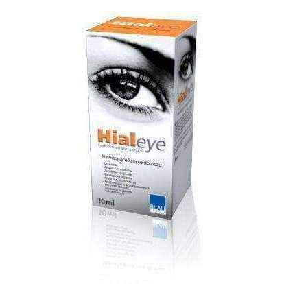 HIALEYE 0.4% eye drops 10ml, dry eye relief.