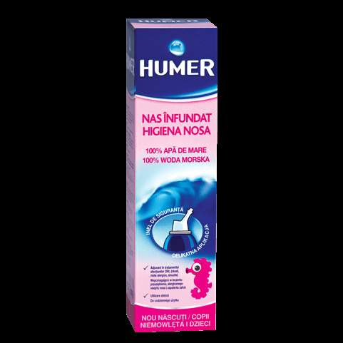 HUMER Sea water into the nose for babies and toddlers spray 150ml