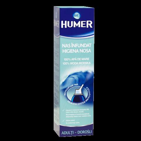HUMER sea water nasal spray for adults 150ml