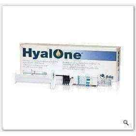HYALONE Solution for injection 60mg / 4ml x 1 pre-filled syringe.