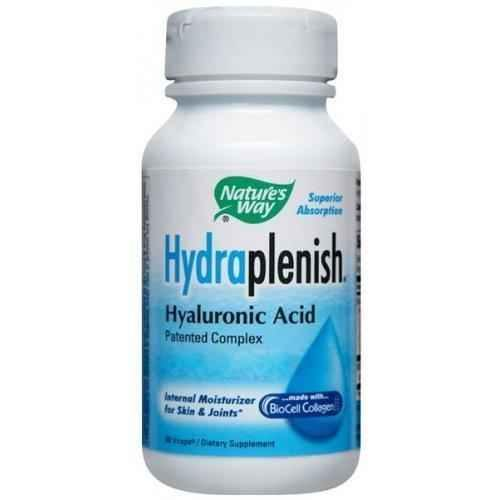 HYDRAPLENISH 500 mg. 60 capsules.