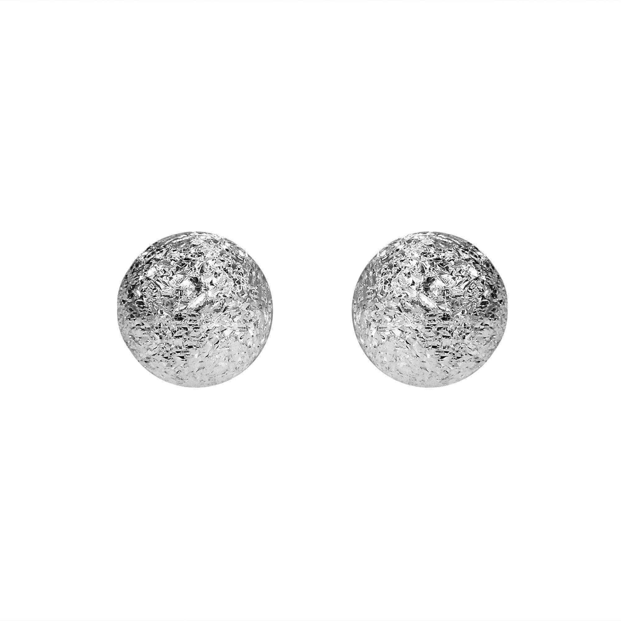 garvin ice oxidized diamond stud products earrings elizabeth collections coin concave silver egf szor