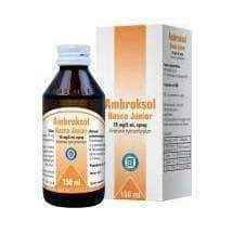 Hasco Junior AMBROXOL 15mg / 5ml 150ml.
