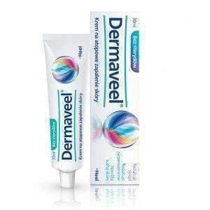 DERMAVEEL cream for atopic dermatitis therapy Dry, itchy, echema skin 15ml