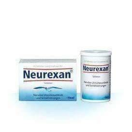 Heel Neurexan x 25 tablets Clearly calms and helps to calm down UK