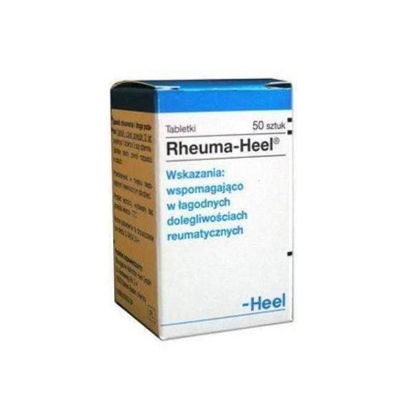 Heel Rheuma-Heel x 50 tablets pain in joints and soft tissue rheumatism symptoms