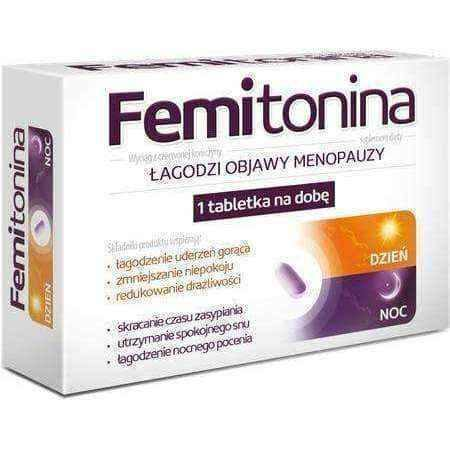 Help relieve the symptoms of menopause Femitonina x 30 tablets UK