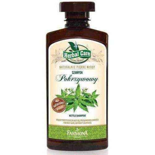 Herbal Care Nettle Shampoo 330ml, best all natural shampoo