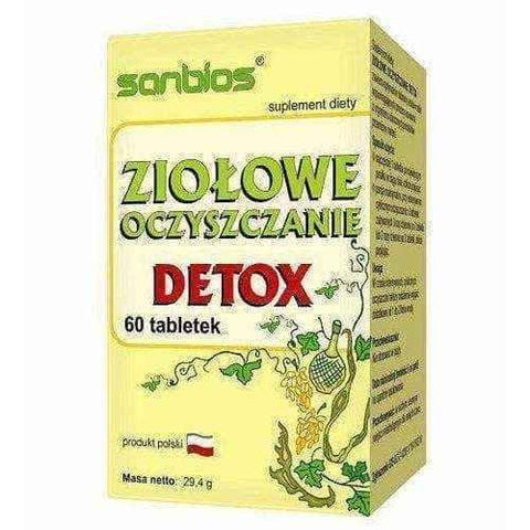 Herbal cleansing Detox x 60 tablets, detox cleanse