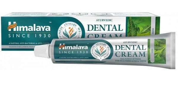 Himalaya Ayurvedic Dental Cream toothpaste with clove oil 75ml