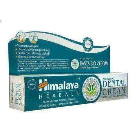 Himalaya toothpaste with fluoride natural 100g