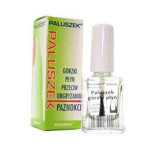 How to stop biting nails GORZKI BUCKING Liquid against biting nails 10ml