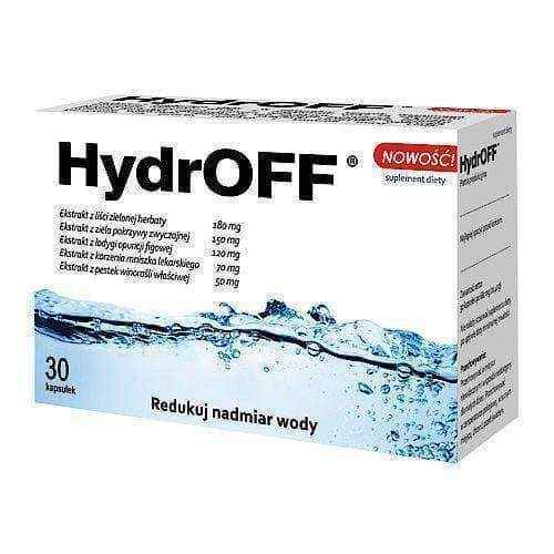 HydrOFF x 30 capsules, weight loss