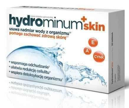Hydrominum + skin Aflofarm x 30 tablets UK