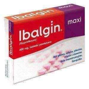 IBALGIN MAXI 400mg x 24 tablets.