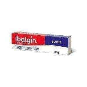 IBALGIN SPORT cream 50g, Zentiva UK