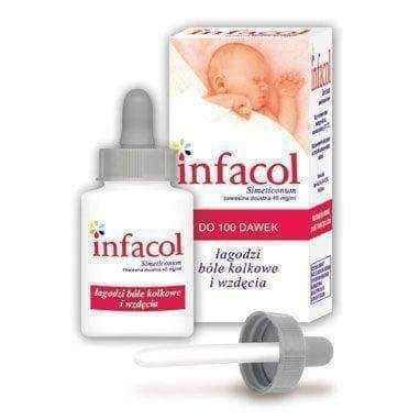 INFACOL suspension 50ml, infacol baby, flatulence, colic pain.