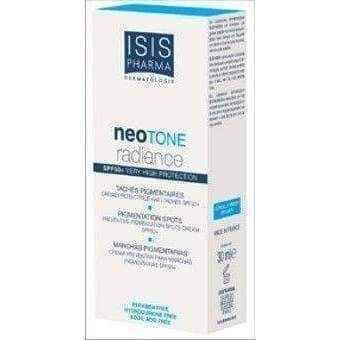 ISISPHARMA Neoton Radiance Serum Day eliminating skin discoloration filter SPF50 + 30ml