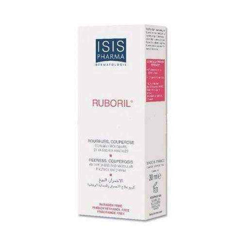 ISISPHARMA Ruboril cream to the skin capillaries and prone to redness 30ml UK