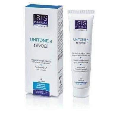 ISISPHARMA Uniton 4 cream lightening skin discoloration from Alpha Arbutin 30ml