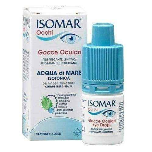 ISOMAR Occhi eye drops 10ml.