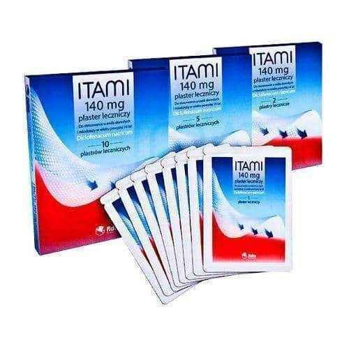 ITAMI Medical patches 140mg x 10 pieces