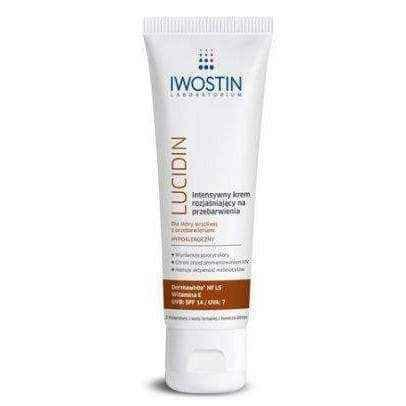 IWOSTIN LUCIDIN Intensive lightening cream for discoloration 40ml.