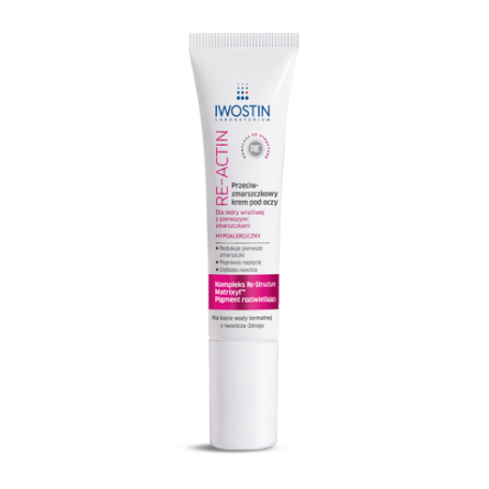 IWOSTIN RE-ACTIN Anti cream 15ml.