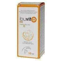 Ibuvit D 600 drops with metering pump 10 ml - ELIVERA UK USA BUY, PRICE, REVIEWS