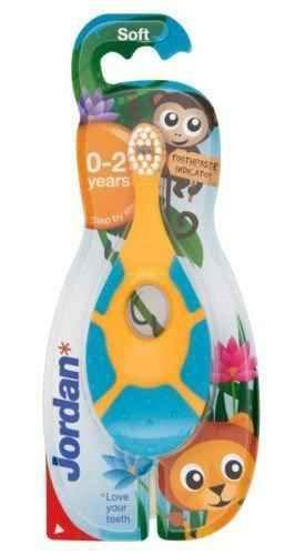 JORDAN Step by step toothbrush 0-2 years x 1 piece.