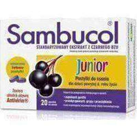 JUNIOR Sambucol x 20 lozenges.