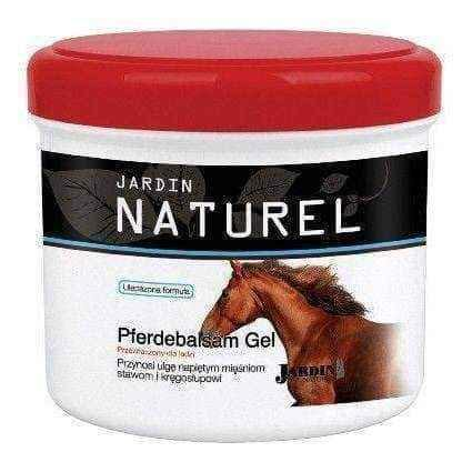 Jardin Naturel Gel 500ml horse, sports injuries