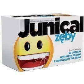 Junical teeth x 30 lozenges- calcium, phosphorus, magnesium, vitamin D for children over 6 years