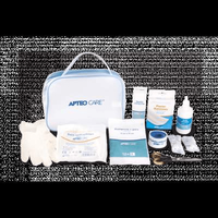 KIT visit Apteo Care, First aid kit, first aid box.