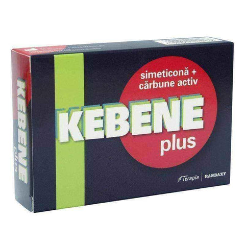 Kebene Plus x 20 tablets, activated carbon, food poisoning, diarrhea