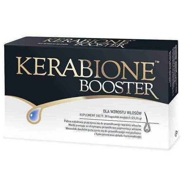 Kerabione Booster x 30 capsules, hair and skin.
