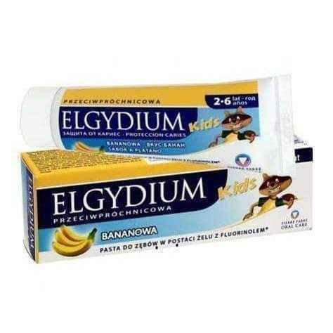 Kids Elgydium toothpaste against tooth decay banana 50ml