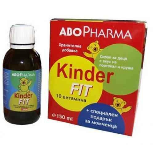 Kinder Fit Multivitamin syrup for boys 150ml.