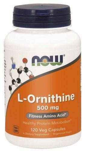 L-Ornithine 500mg x 120 capsules