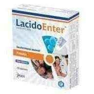 LACIDOENTER 250mg x 10 capsules - ELIVERA UK, England, Britain, Review, Buy