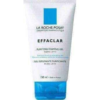 LA ROCHE Effaclar cleansing gel 200ml, effaclar gel cleanser.
