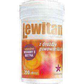 LEWITAN brewers yeast x 200 tablets (100g)