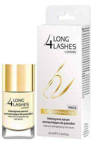 LONG 4 LASHES Intensive strengthening serum for nails 10ml.