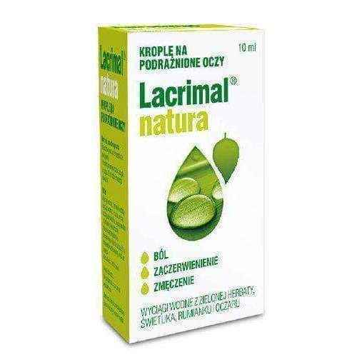 Lacrimal Nature eye drops 10ml, natural eye drops